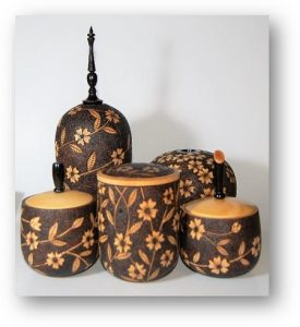 Thys - Pyrographed Items